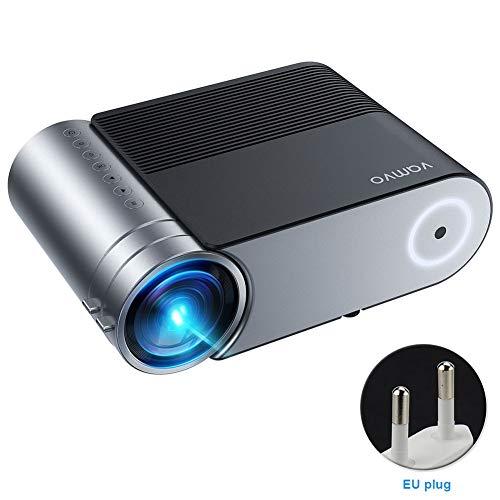 Fayeille Mini proiettore, proiettore luminosità L4200, supporto 1080P 200'Display, proiettore cinematografico portatile, compatibile con TV Stick, videogiochi, HDMI, TF, VGA, AV e USB