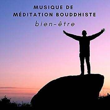 Musique de méditation bouddhiste - Chansons thérapeutique de sérénité & bien-être