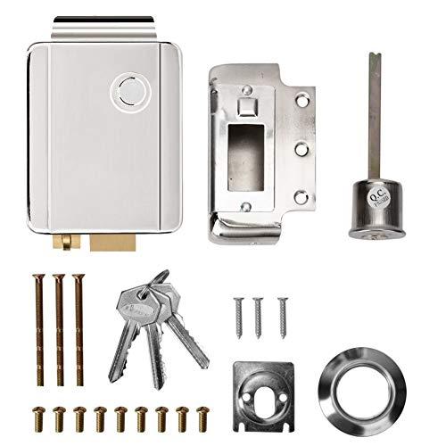 Tarente Sicherheitszeichen Signale, Einzylinder Sicherheit Elektrische Steuerung Schloss Türzutrittskontrollsystem mit Tasten