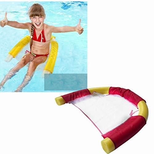 CaCaCook Schwimmnudel, Wassersitz für Poolnudel, Schwimmstühle Für Schwimmbad Schwimmnudel Stuhl, Pool Nudel Schaumstoff Netz für Kinder Und Erwachsene Schwimmendes Zubehör für Poolpartys