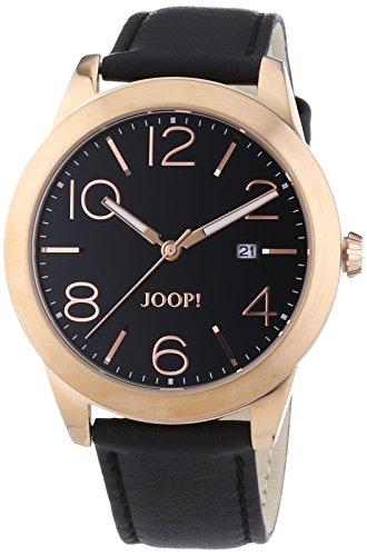 Joop Herren-Armbanduhr XL Analog Quarz Leder JP101371F04