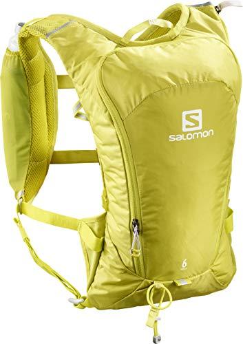 Salomon, Leichter Lauf-Rucksack 6L, AGILE 6 SET, Gelb (Citronelle), LC1093000