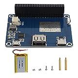 Yunseity Módulo de Carga con protección de batería, Placa de expansión de batería de Litio para Raspberry Pi SW6106 5V, Placa de expansión de Fuente de alimentación Tipo C para Raspberry Pi
