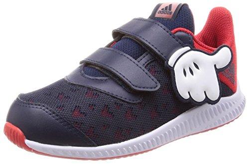 adidas Unisex Baby DY Mickey Fortarun Cloudfoam Sneaker, Rot (Scarle/Vivred/Ftwwht), 19 EU