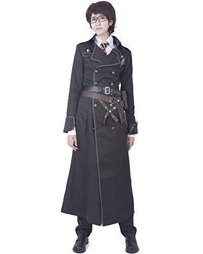 miccostumes Men's Yukio Okumura Cosplay Costume (L, Black)