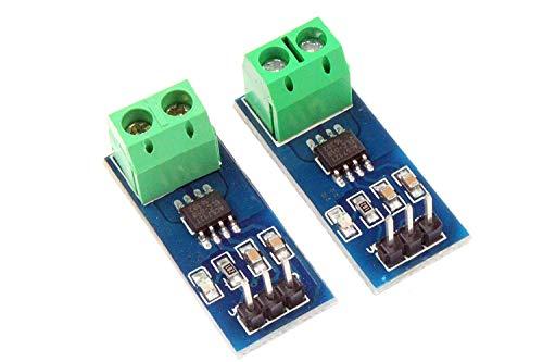 ARCELI 2Pcs ACS712 Detector de módulo de Sensor de Corriente - Amperaje ACS712ELC 5A Rango