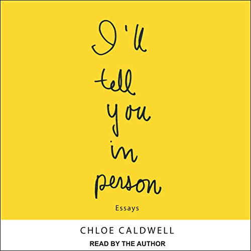 I'll Tell You in Person audiobook cover art