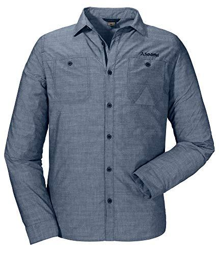 Schöffel Shirt Christchurch2 Chemise Homme Dress Blues FR : 2XL (Taille Fabricant : 60)