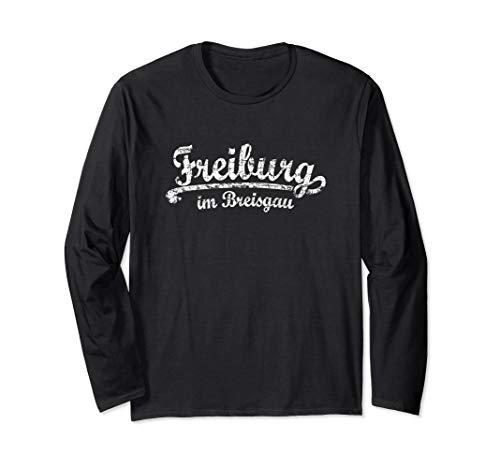 Freiburg im Breisgau (Vintage Weiß) Freiburg Langarmshirt