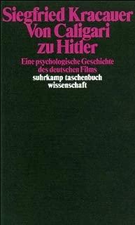 Von Caligari zu Hitler. by Siegfried Kracauer (1984-01-31)