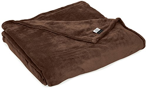 Northpoint Newport Micro Fleece Plush Blanket, King, Taupe