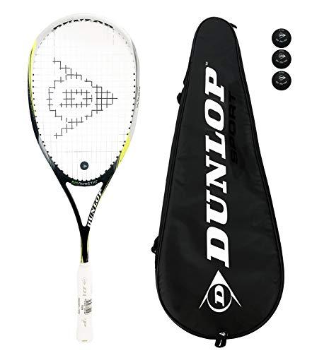 Dunlop 4D Aerogel Ultimate - Raqueta de squash (funda incluida)