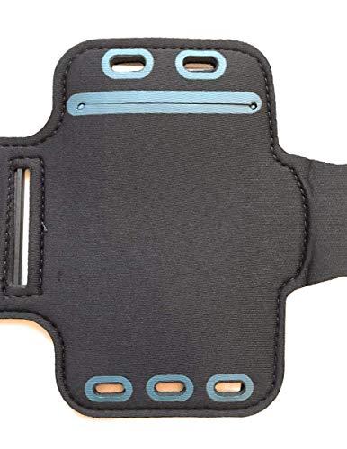 CoverKingz Sportarmband für Samsung Galaxy Note10 Lite - Armtasche mit Schlüsselfach Galaxy Note10 Lite - Sport Laufarmband Handy Armband Schwarz