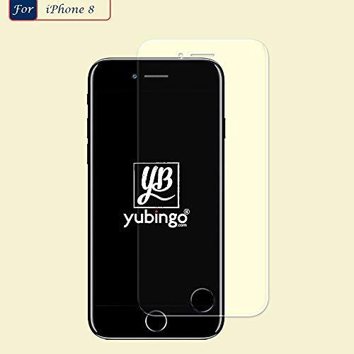 YuBingo Screen Guard for Apple iPhone 8 (Flexible. Shatter & Scratch Resistant, HD Clarity, Case Friendly)