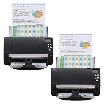 Fujitsu fi-7160 Color Duplex Document Scanner - Workgroup Series  2-Pack