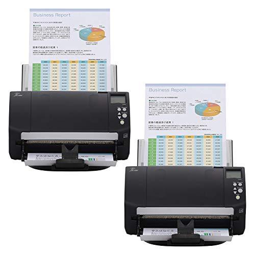 Fujitsu fi-7160 Color Duplex Document Scanner - Workgroup Series (2-Pack)