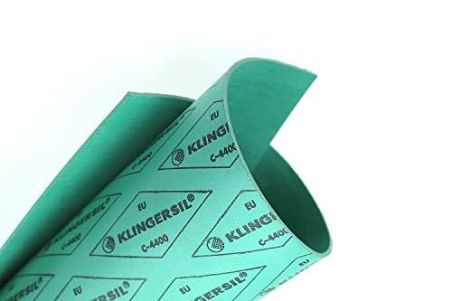 Dichtungsplatte Klingersil C-4400 3mm Dichtungspapier 350x250mm Flachdichtung