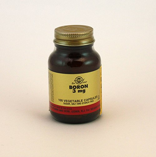 Boron 3 mg Vegetable Capsules