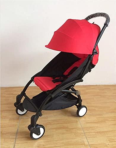 ZHYLing Cochecito de bebé Original 2 en 1 + Nido de Nacimiento recién Nacido Carreras de bebé Plegables cochecitos cochecitos para bebé 0-36 Meses (Color : 20) 🔥