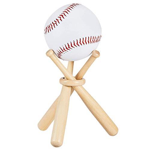 Shumo Baseball-Golf-Tennisball-Ausstellungsstand-Andenken-Ball-Holz-Halter-UnterstüTzung