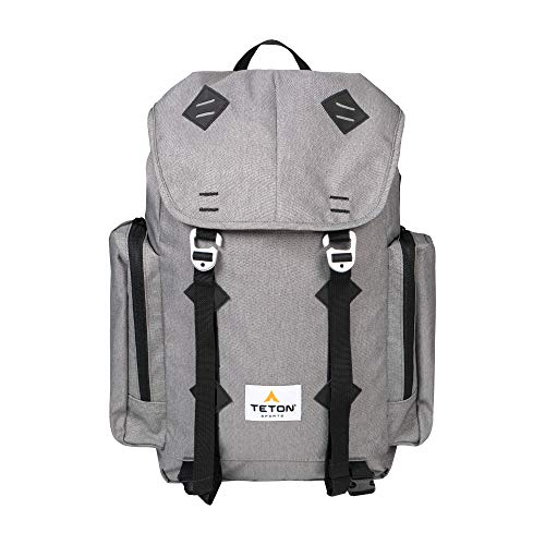 TETON Sports London Canvas Backpack for Travel; Daypack for School, Work and Hiking