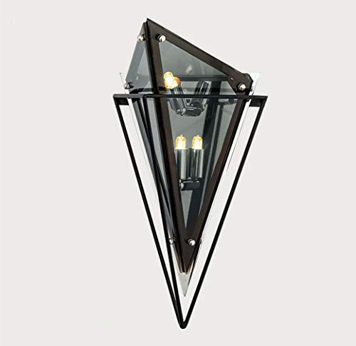 Nordic wandlampen, decoratieve wandlamp van smeedijzer en smeedijzer, postmodern bedlampje, slaapkamer, wandlamp, creatieve wandlamp, G9, wit