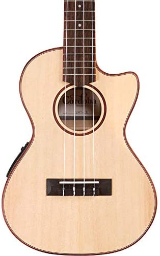 Cordoba 24T-CE Tenor Spruce Max 67% OFF Electric Acoustic Al sold out. Ukulele