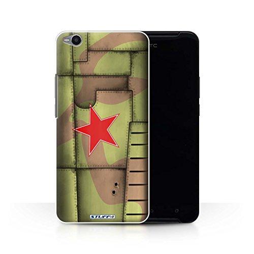 Stuff4 Var voor HTC1-CC Vliegtuig Fighter Wing HTC One X9 Soviet/Groen