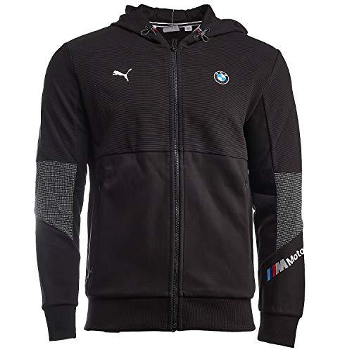 PUMA BMW Motorsport - Sudadera con capucha para hombre - 59800101, Bmw Motorsport - Sudadera con capucha, XL, Negro (PUMA BLACK)