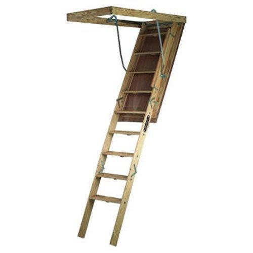 Louisville Ladder S305P Attic Ladder, 8'9'