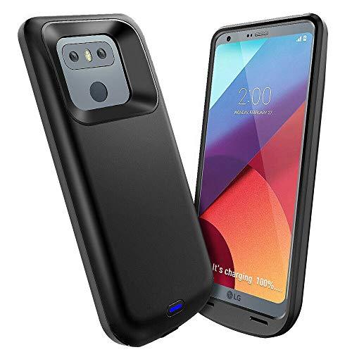 Idealforce Battery Case for LG V30,4200mAh Portable Power Bank Pack Extern LG V30 Battery Charger Case (LG V30)