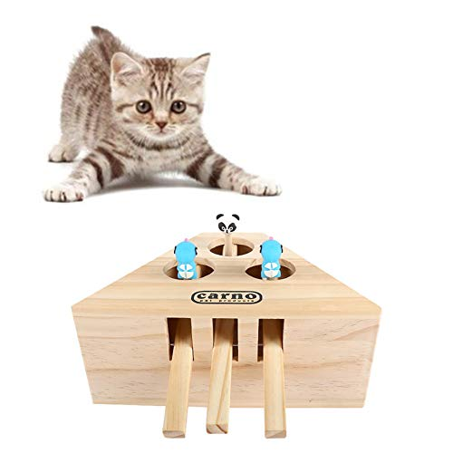 ppaphh Cosas para Gatos Wooden Puzzle Box Cat Indoor Play Toy Cat Scratch Toys Cat Toys For Indoor Cats Cat Exercise Toy Pet Entertainment Toy