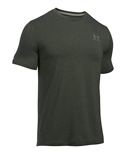 Under Armour Cc Left Chest Lockup, Camiseta para Hombre, Azul (Tropical Tide/Swallowtail/Anthracite), L