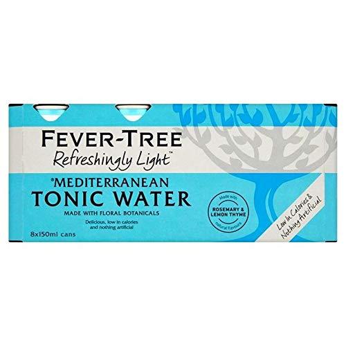 Fieberbaum Erfrischend Leichte Mediterrane Tonic Water 8 X 150Ml
