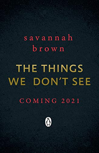 The Things We Don't See (English Edition)