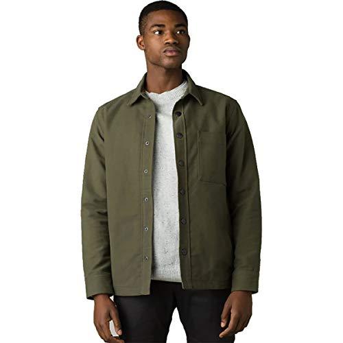 prAna Mens Wild Rogue Jacket - Slim, Cargo Green, X-Large