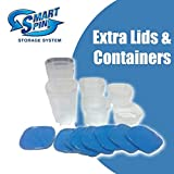 Extra Containers and Lids for Smart Spin Storage