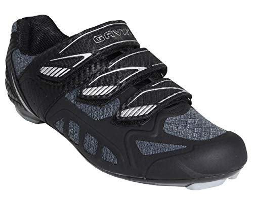 Gavin Road Bike Mesh Cycling Shoes Mens Womens Black/Grey