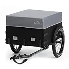 Remorque remorque de vélo Qeedo Cargo remorque, remorque de transport à vélo, TÜV testé