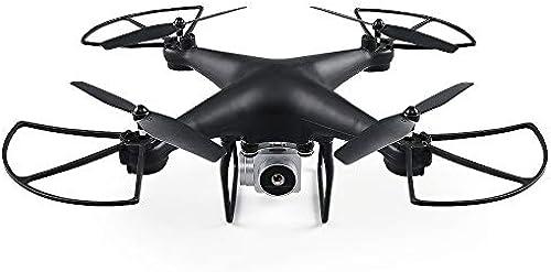 Drohne 720P HD WiFi Camcorder FPV RC Drone 2,4 Ghz Fernbedienung Quadcopter Suspension H  Halten Headless Modus Funktion und Lange Steuerbereich Hubschrauber Schwarz