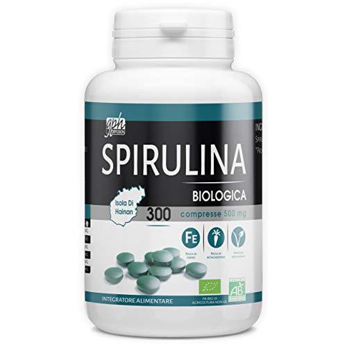 Spirulina Biologica - 500mg - 300 compresse