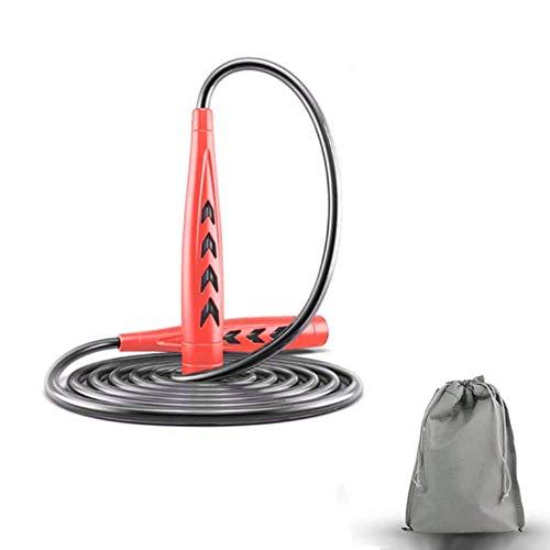 HUOHUOHUO Comba Speed Rope,Cuerda para Saltar Deporte Adulto,Comba de Saltar Larga,Cuerda de...