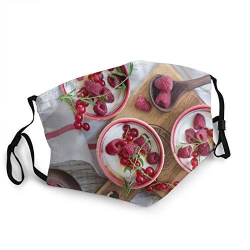 Comfortable Fashion Face Mask Yoghurt Raspberry Red Mouth Face Protect Bandana Balaclavas Dust Mask