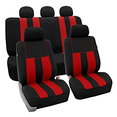 FH Group FB036BLACK115 Car Seat Cover Fits Most Cars