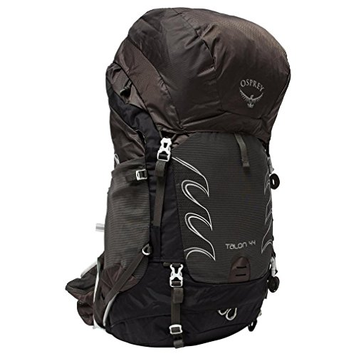 Osprey Talon 44L Rucksack Travel Bag Pack Rucksack, Black, One Size