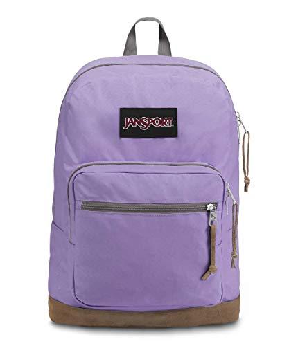 JanSport Right Pack Digital Edition Laptop Backpack - Orchid Lavender Purple Yarn Dye