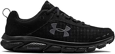 UNDER ARMOUR Men's Charged Assert 8 Running Shoe, Black (002)/Black, 9