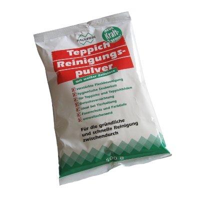 1 Teppichreinigungspulver weiß, 500g von Staubbeutel-Profi®