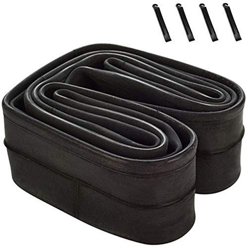 Inner Tubes, 26 inch x1.75/1.9/1.95 Inch Bike Inner Tubes Replacement for 32mm Schrader Valve MTB Bike Inner Tubes Durable Butyl Rubber Bike Tires (26x1.75/1.95)