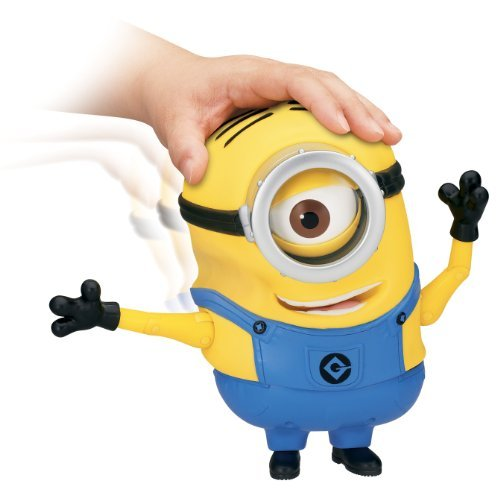 Product Image of the Game/Play Despicable Me 2 Minion Stuart Laughing Action Figure Kid/Child